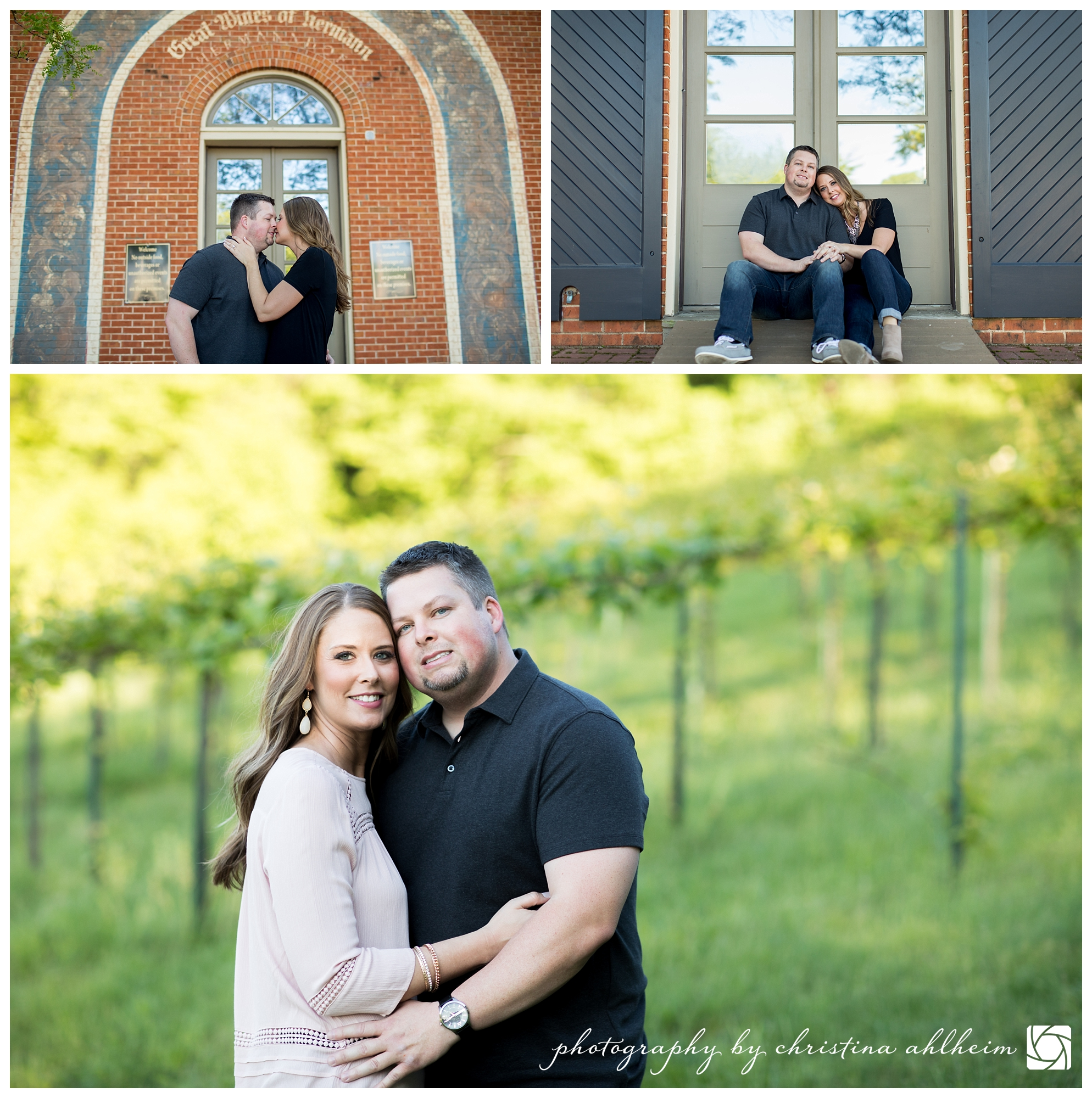 Hermann MO Engagement Photography