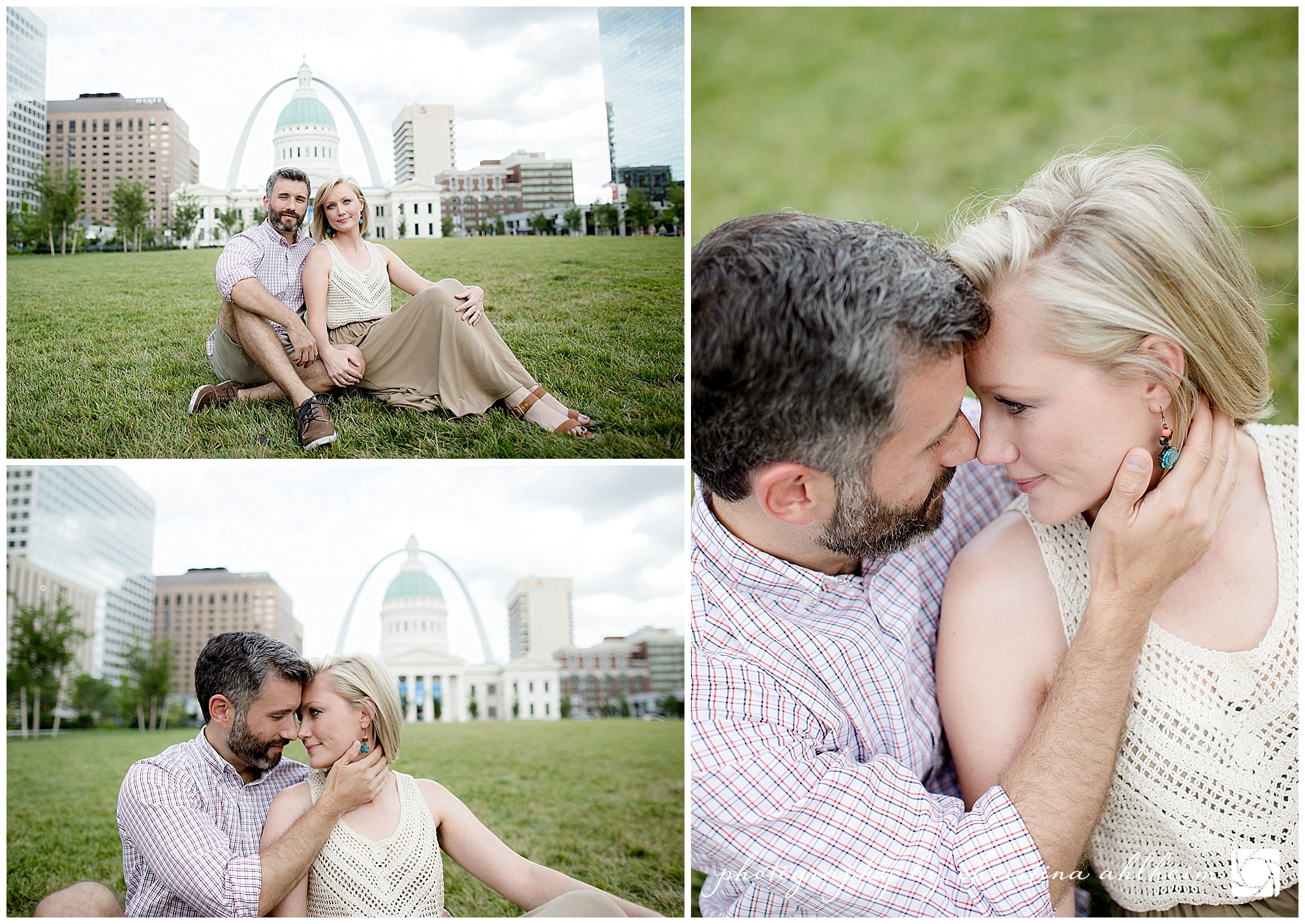 Arch and Forest Park Saint Louis Engagement Photography